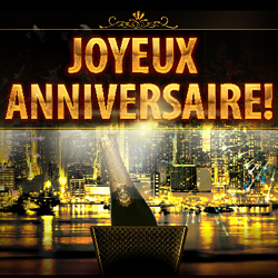 joyeux anniversaire champagne et feu d 39 artifice. Black Bedroom Furniture Sets. Home Design Ideas